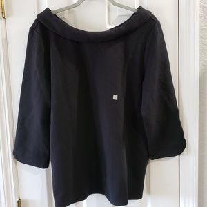 Ann Taylor Peter Pan Collar Blouse